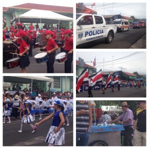 Parade - Costa Rica Style